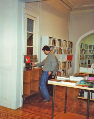 <p>The first bookshelf designed by Kieckens for Copyright in 1992.</p>