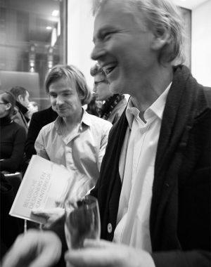 <p>Designers Danny Venlet en Bram Boo</p>