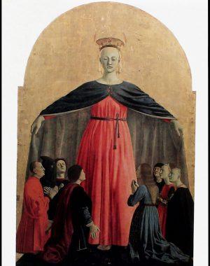 <p>Piero della Francesca (ca. 1445, Pinacotheca Sansepolcro)</p>