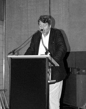 <p>Gastspreker Marc Dubois, architectuurcriticus</p>