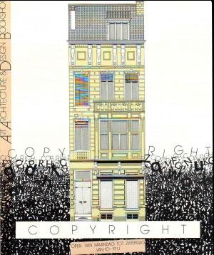 <p>Eerste postkaart met een tekening van onze nieuwe locatie, een eindwerk van een student grafische kunst, St. Lucas Gent (naam vergeten!)</p>