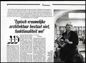 "<p>Artikel in ""De Morgen"" n.a.v. de tentoonstelling</p>"