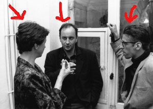 <p>Van links naar rechts: Lieve Balliu (klassieke zangeres), Paul Robbrecht en Guy Châtel (architecten)</p>