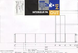 <p>Maarten Van Severen, vriend en trouwe klant van Copyright, ontwierp voor ons het prototype, waar hij later op zou verder werken, o.m. voor de bibliotheek van het Van Abbemuseum in Eindhoven</p>