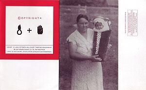 <p>De betekenis van de foto van moeder met nieuwgeboren kind was voor iedereen duidelijk. De rebus, minder evident: de strop van Gent + het Antwerpse handje</p>