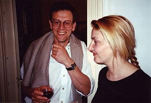 <p>Links: Peter Derks, huisfotograaf die avond</p>