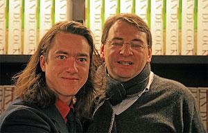 <p>Jan met verzamelaar en mecaenas Paul Thiers</p>