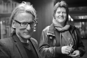 <p>Tania Van De Vondel (Luster) en Johan Boeykens (Copyright)</p>