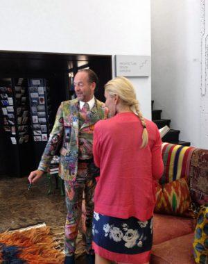 <p>Gert Voorjans en Hilde Peleman van Copyright Bookshop</p>
