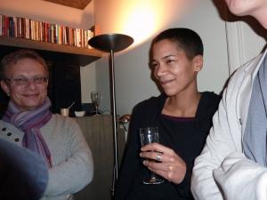 <p>Midden: Michèle Meermans van WPG Uitgevers</p>