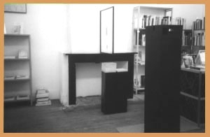 <p>The installation 'A Pied d'Oeuvre'</p>