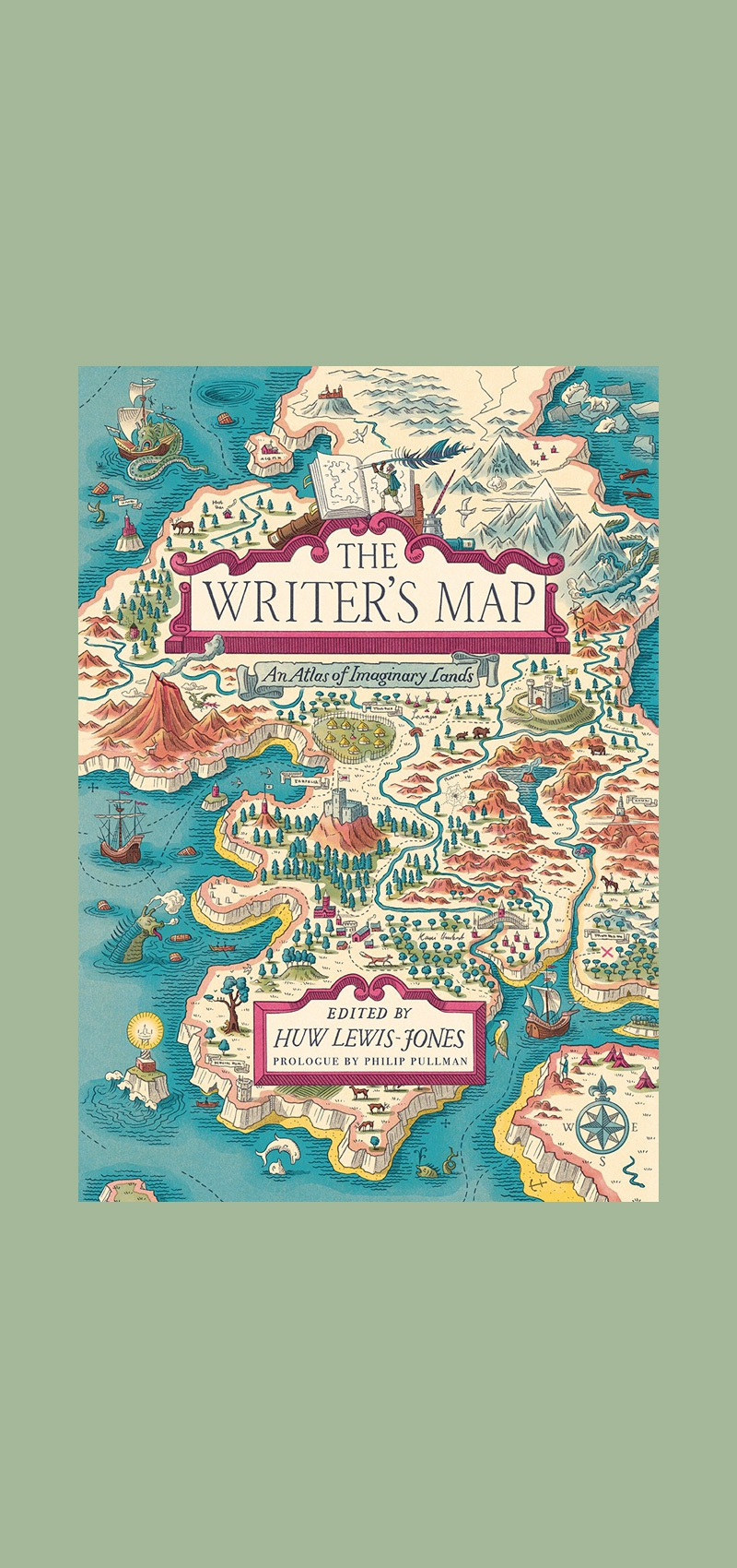 Picture of: The Writer S Map An Atlas Of Imaginary Islands Copyright Bookshop