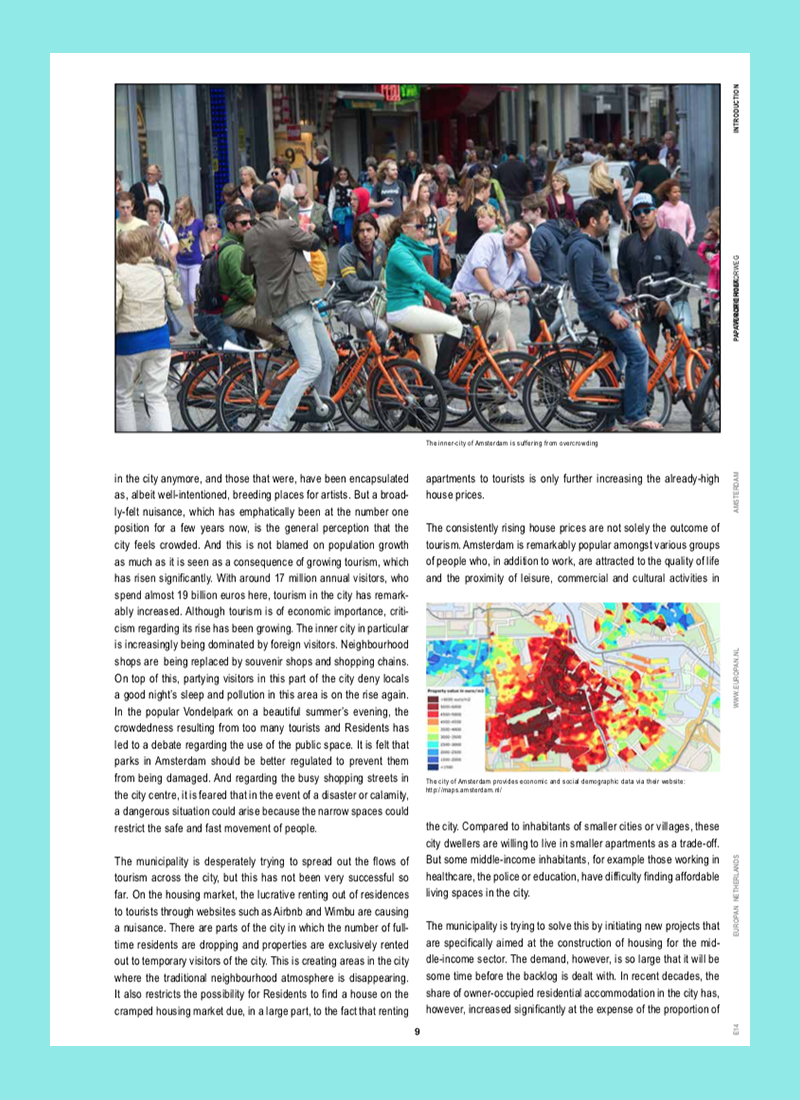 Productive Amsterdam: Space for a New Economy (Europan 14)